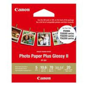 "Canon PP-301 Glossy Photo Paper (3.5 x 3.5""), 20 S"