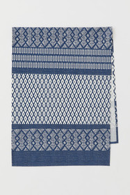 Patterned Cotton Table Runner