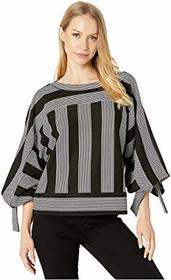 BCBGMAXAZRIA Striped Knit Top