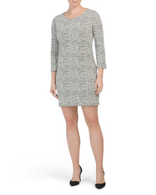NICOLE MILLER Dropped Shoulder Dress With Pockets