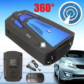 V7 16 BAND 360° DEGREE CAR LASER RADARS GUN SPEED