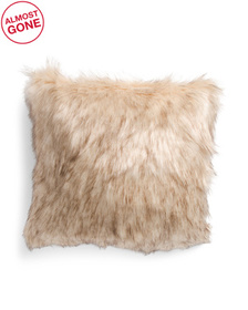 ASPEN 20x20 Faux Fur Pillow