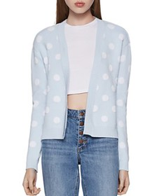 BCBGENERATION - Polka-Dot Cozy Cardigan