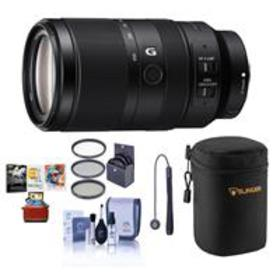 Sony E 70-350mm f/4.5-6.3 G OSS Lens - With Free M