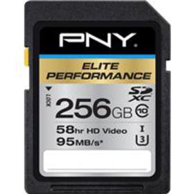 PNY Technologies 256GB Elite Performance SDXC Clas