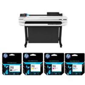 "HP DesignJet T525 36"" Wireless LF Inkjet Printer W"