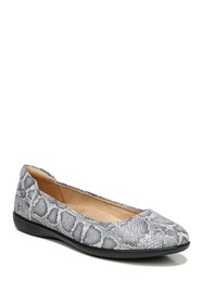 Naturalizer Snake Embossed Flat - Wide Width Avail