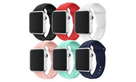 Apple Watch 1,2,3,4,5, Sport Band Silicone Bands R