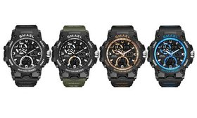 SMAEL Men's Sport Watch Military Army S Shock 50m