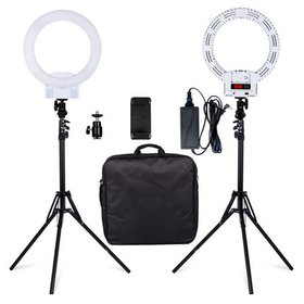 LED Ring Light and Stand, Dimmable LED Ring Light,