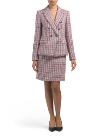 TAHARI BY ASL Tweed Suit Collection
