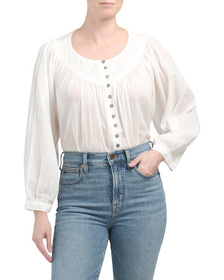 FREE PEOPLE Cool Meadow Top