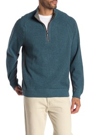 Tommy Bahama Flipster Reversible Half Zip Pullover