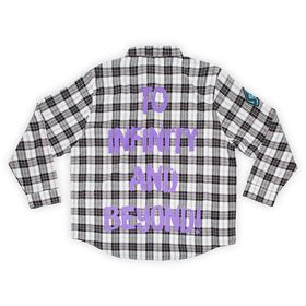 Disney Buzz Lightyear Flannel Shirt for Adults by