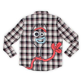 Disney Forky Flannel Shirt for Adults by Cakeworth