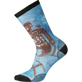 Smartwool Curated Game Of Ghosts Crew Sock - Men's