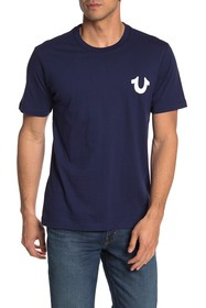 True Religion Horseshoe Graphic Print T-Shirt