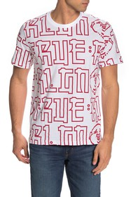 True Religion Buddha Print T-Shirt