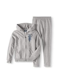Cherokee Graphic Hoodie and Joggers, 2-Piece Set (