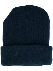 CTM® Adult 4 Ply Knit Winter Cuff Hat
