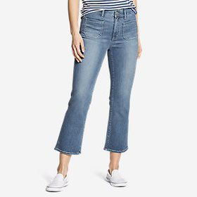 Women's Elysian High-Rise Kick Flare Patch Pocket