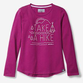 Girls' Graphic Long-Sleeve T-Shirt