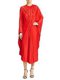 Vetements Wing Pleated Dress RED