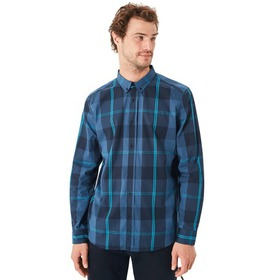 Oakley Local Long Sleeve Woven - Ensign Blue