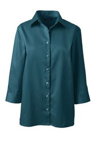 Lands End Women's 3/4-sleeve Performance Twill Shi