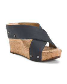 LUCKY BRAND X-band With Cork Wedges