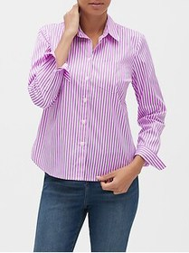 Factory Untucked Stripe Classic Shirt