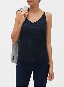 Factory Flock Dot Print Classic Camisole