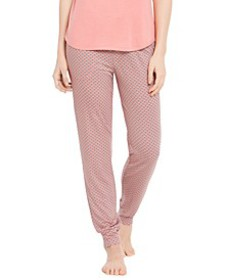 Printed Knit Jogger Pajama Pants, Created For Macy
