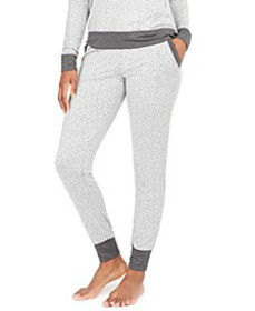 Women's Animal-Print Jogger Pajama Pants, Created
