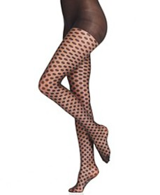 Sheer Dot Control Top Pantyhose Sheers