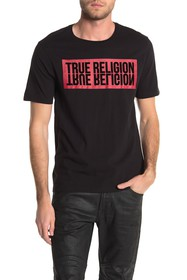 True Religion Logo Reflection T-Shirt