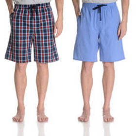 Mens Hanes® Ultimate® 2pk. Woven Sleep Shorts