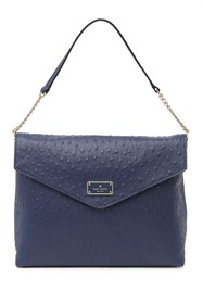 kate spade new york leena ostrich embossed leather