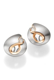 BREUNING Two-Tone 18K Rose Gold Plated Sterling Si