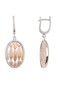 BREUNING Two-Tone Sterling Silver & White Sapphire