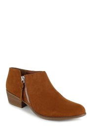 Esprit Troy Pointed Toe Faux Suede Ankle Bootie