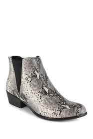 Esprit Tiffany Snakeskin Embossed Pointed Toe Ankl