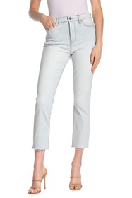 HUDSON Jeans Holly High Rise Straight Crop Jeans