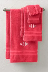 Lands End Essential Cotton Bath Towels