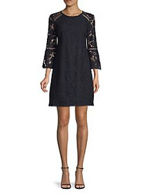 Vince Camuto Lace Day Dress NAVY