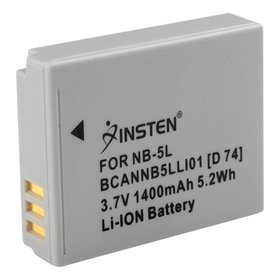Insten NB-5L NB5L Replacement Battery For Canon Po