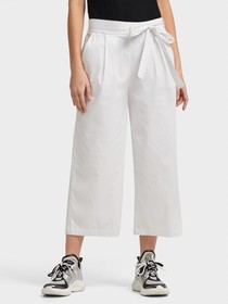 Donna Karan PULL ON WIDE LEG CROP PANT