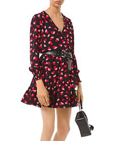 MICHAEL Michael Kors - Printed Wrap Dress