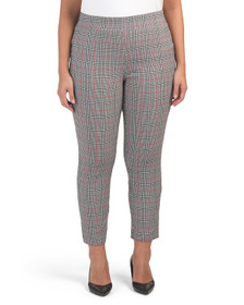 JONES NEW YORK SIGNATURE Plus Faux Trouser Pants