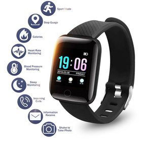 Watch Blood Pressure Heart Rate Sleep Monitor Brac